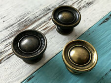 Vintage Look Cabinet Door Knob Dresser Knob Drawer Pull Antique Bronze Rustic