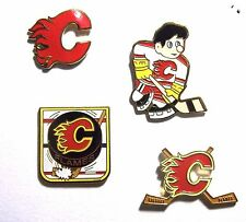 Vintage 1993 NHL CALGARY FLAMES Team Logo Lapel Pin - NEW! **CLEARANCE**