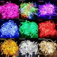 10M 100LED String Fairy Lights Wedding Party Xmas LED Light Waterproof 9 color !