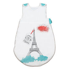 Eiffel Tower Pati'Chou sleeping bag for baby 6 12 24 36 months, 0.5 to 4 tog
