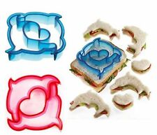 AU Seller cutters Sandwich Cake Bread Toast Cookies Biscuit Cutter Mold