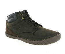 CAT Caterpillar Leadville Coffee Walking Leather Ankle Boots Mens UK7-12
