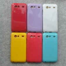 For Samsung Galaxy S Advance i9070 Soft Rubber Glossy back case cover
