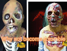 Creepy scary Halloween funny mask devil monster zombie mask Latex Cosplay Props
