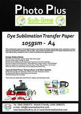 105gsm Dye Sublimation Transfer Paper for Printing on Mugs