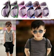 Child Cool Children Boys Girls Kids Plastic Frame Sunglasses Goggles Eyewear NL