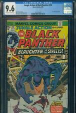 JUNGLE ACTION BLACK PANTHER #20 CGC 9.6 NM+ NEAR MINT+ MARVEL COMICS HIGH GRADE