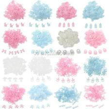 100pcs Fabric Sew Appliques Baby Shower Scrapbooking DIY Craft Table Scatters