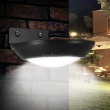 Solar Power LED Motion Sensor Outdoor Path Wall Light Garden Security Lamp Y4H4