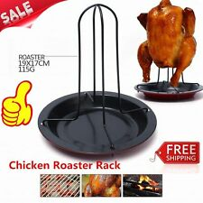 Practical Home Kitchen Cooking Baking Tools Carbon Steel Chicken Roaster Rack AU