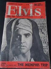 Vtg ELVIS PRESLEY Monthly Magazine Series 6 Issue 70 November 1965 Real Photos