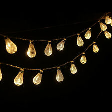 4M 40Led Battery Operation LED String Lights Drip Patio Party Festival light