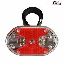 Bright Bike Bicycle Cycling 9 LED 7 Modes Flashing Rear Light Tail Back Lamp New