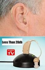 New Rechargeable Hearing Aids Personal Sound Voice Amplifier Behind The Ear NL