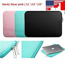 "Laptop Sleeve Case Carry Bag Notebook For Macbook Air/Pro/Retina 11/13/15"" WC"