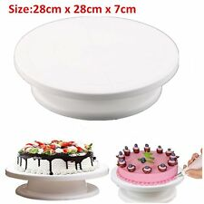 Cake Decorating Stand Turntable Rotating Revolving Icing Kitchen Display B2