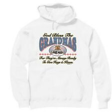 Pullover Hooded hoodie sweatshirt Family God bless the Grandmas grandmother