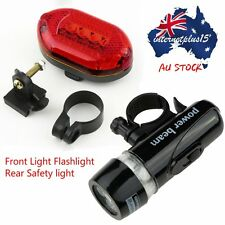 LED Bicycle Bike Cycling Silicone Head Front Rear Wheel Safety Light Lamp U9