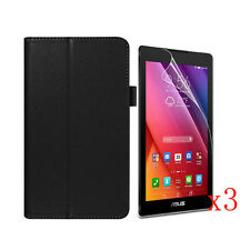 """Stand Leather Case Cover+3x LCD Film F 7"""" ASUS ZenPad C 7.0 Z170C Z170CG Tablet"""