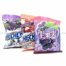 MORINAGA Hi-Chew Assorted Flavors Fruit Chewy Candy Grape Strawberry Lychee