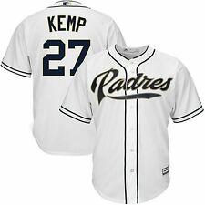 Matt Kemp #27 San Diego Padres Majestic Mens Cool Base Jersey Big & Tall Sizes