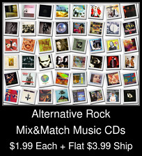 Alternative Rock(1) - Mix&Match Music CDs @ $1.99/ea + $3.99 flat ship