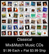 Classical(1) - Mix&Match Music CDs @ $1.99/ea + $3.99 flat ship