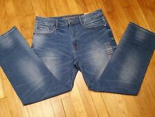 American Eagle Relaxed Straight Jeans Men's Extreme Flex Medium Wash NWT New