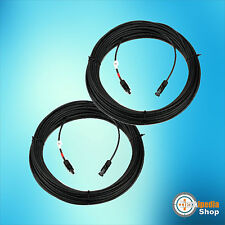 1 Paar 6mm² Solar string cable incl. mounted MC4-Stecker, optional 5-30m
