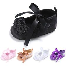 0-18M Infant Baby Princess Girl Flower Baby Shoes Soft Sneakers Crib Shoes Cute