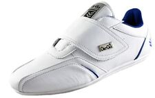 GIO GOI CHESTER WHITE VELCRO TRAINERS RRP £49.99 SAVE 75% OFF - FREE DELIVERY