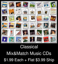 Classical(3) - Mix&Match Music CDs @ $1.99/ea + $3.99 flat ship