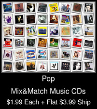 Pop(24) - Mix&Match Music CDs @ $1.99/ea + $3.99 flat ship