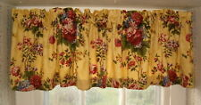 TAILORED VALANCES IN ROMANTIC FLORAL FABRICS - YOU CHOOSE FABRIC