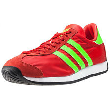 adidas Country Og Mens Trainers Red Green New Shoes