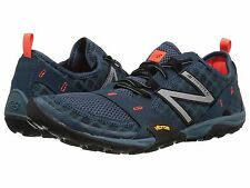 NEW MENS NEW BALANCE MINIMUS 10v1 Tornado Blue Alpha Orange RUNNING TRAIL SHOES