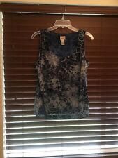 Womens Chicos Multi Color/Print Pullover Top.  Size 2 (like 12).  CUTE!