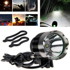 3000LM CREE XM-L T6 LED 3 Mode Bike Bicycle Front Head Light Lamp Headlamp Torch