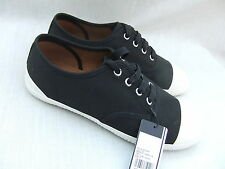 NEW FRED PERRY WOMENS B1034W WARDOUR TWILL BLACK TRAINERS