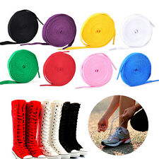 Flat Long Shoelaces High Sneakers Boots Athletic Casual Canvas Shoe Shoestring