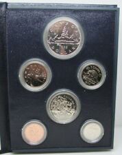 1983 Canada 6 Coin Specimen Set By RCM With COA