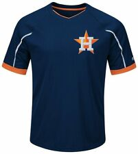 Houston Astros MLB Majestic Mens Cool Base Emergence Shirt Big & Tall Sizes