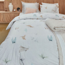 NEW Origami Birds Quilt Cover Set