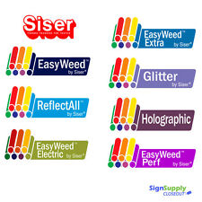 Siser Heat Transfer Vinyl Sale - Glitter Holographic Extra ReflectAll Easyweed