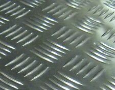 Aluminium Tread Plate Chequer Kickplate - Various sizes available