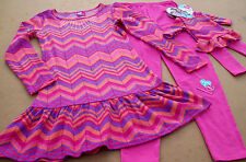 NEW 4PC HOLIDAY LEGGINGS OUTFIT(4 5 6 6X) + DRESS FOR AMERICAN GIRL DOLL DOLL