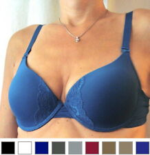 NEW Foam Lined Full Cup Underwire Push Up Bra- 34-36-38-40 B/C Cup Sizes
