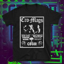 Cro-Mags T-Shirt.NYHC, CBGB, Agnostic Front, Bad Brains, Madball, Sick Of It All