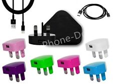 GENUINE CE/USB MAINS CHARGER&USB CABLE FOR ipod IPHONE 5s 5c 6 5 ipad air mini