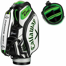 2017 CALLAWAY GOLF MENS GBB EPIC TOUR STAFF BAG - NEW TROLLEY BAG 6-WAY DIVIDER